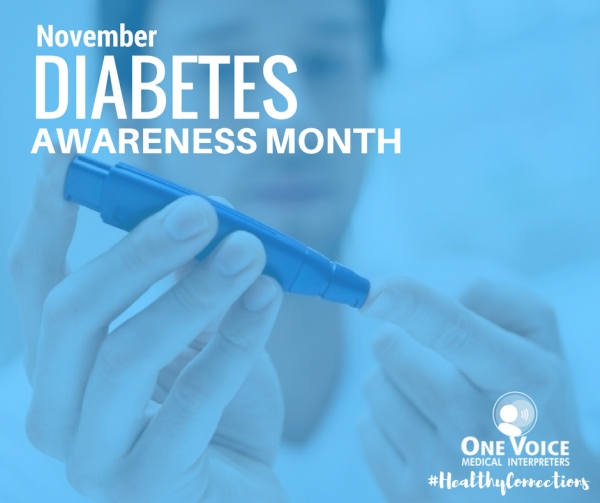 November bids Adieu to Diabetes