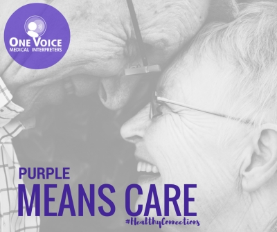 Purple Means Care: National Alzheimer's disease Awareness Month