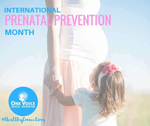 International Prenatal Prevention Month