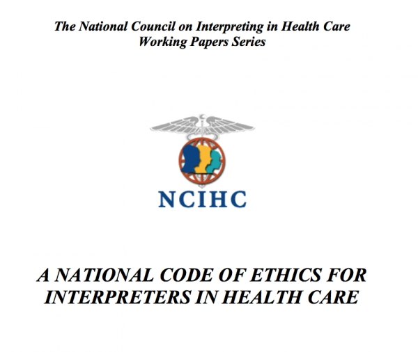 National Standards of Practice for Interpreters in Health Care